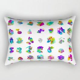 Little Bits Rectangular Pillow