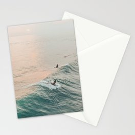 summer waves iv Stationery Cards