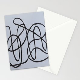 Wiggly Line Stationery Cards