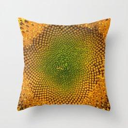 Sunny Flower Throw Pillow