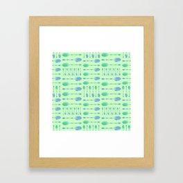 Unique Artsy Spoons! (Pale Green) Framed Art Print