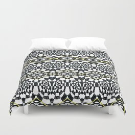 Cellules de Grisements Duvet Cover