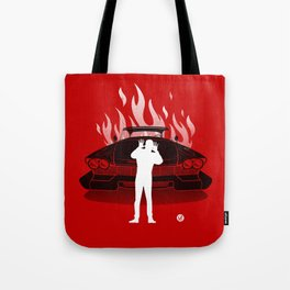 Christine (Red Collection) Tote Bag