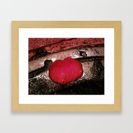 Dive In And Smell The Rain Framed Art Print