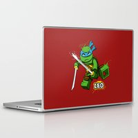 leo Laptop & iPad Skins featuring Leo by le.duc