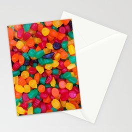 Jujubes Gummy Candy Photo Pattern Stationery Cards