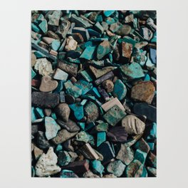 Turquoise & Teal Poster