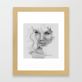 ...because of you Framed Art Print