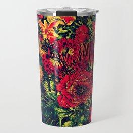 Vivid Jungle Travel Mug