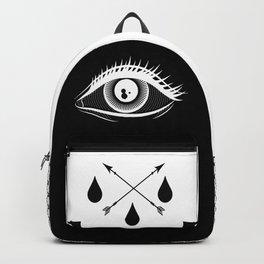 Heart Eye Backpack