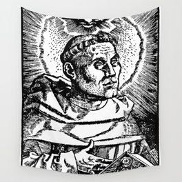 Portrait of Martin Luther Wall Tapestry