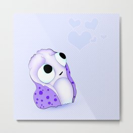 baby monster and hearts Metal Print