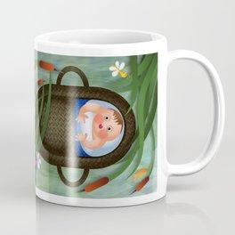 Baby Moses on the River Nile Coffee Mug