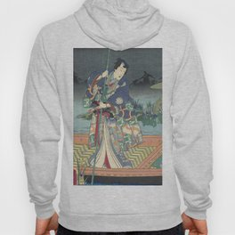 Prince Genji, Japanese Triptych, 1860 Hoody