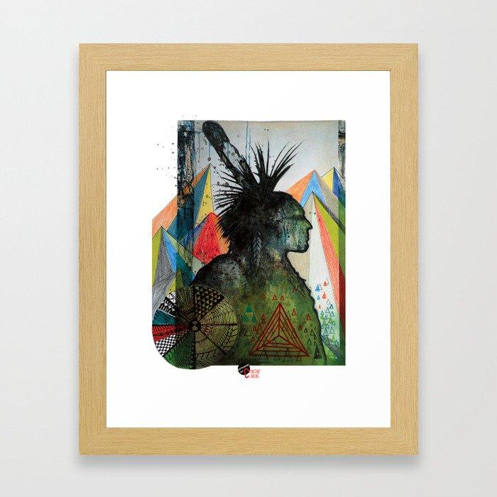 Tenaya Framed Art Print