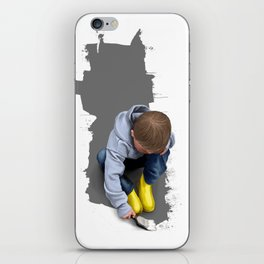 To Live with No Thought for the Future iPhone Skin
