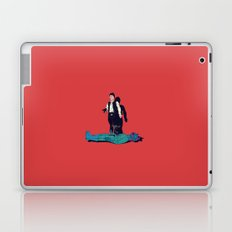 Over my dead body Laptop & iPad Skin