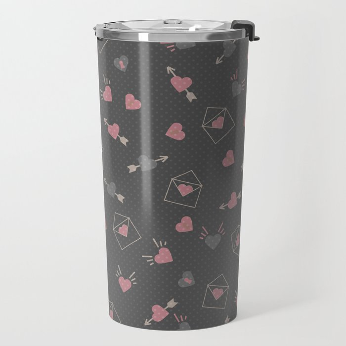 Letters for your sweetheart . Travel Mug