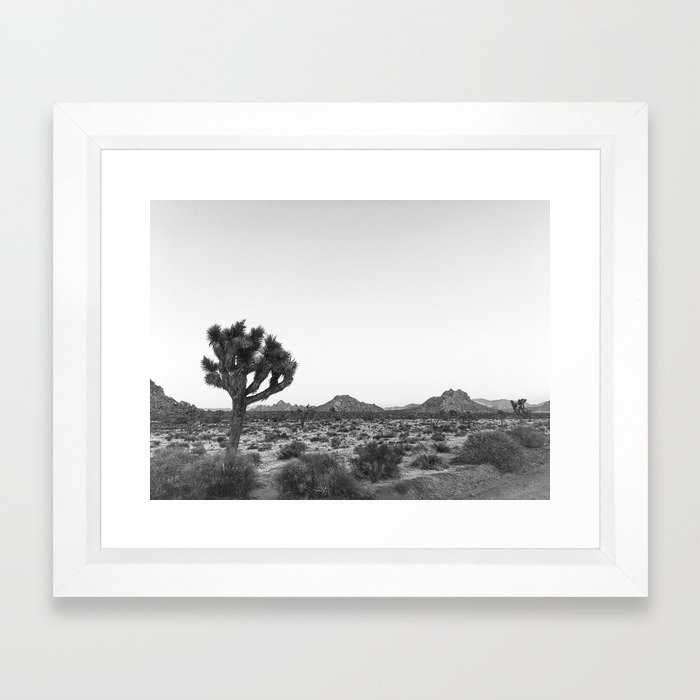 JOSHUA TREE / California Desert Framed Art Print