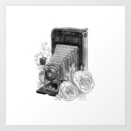 Antique v.2 Art Print