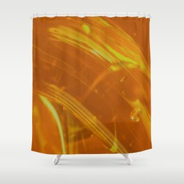 Honey Up Close 1! Shower Curtain