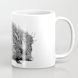 Leaf Hedgehog Coffee Mug