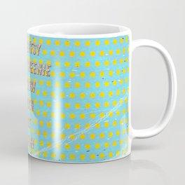 Itsy Bitsy Teenie Weenie Yellow Polka Dot Bikini - The Bikini celebrates its 70th Birthday Coffee Mug
