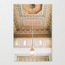Marrakech ceiling Canvas Print