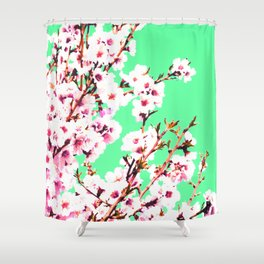 Sakura XII Shower Curtain