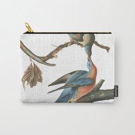 Passenger pigeon, Birds of America, Audubon Plate 62 Carry-All Pouch