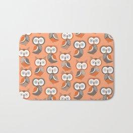 Owls, owls Bath Mat