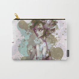 Porcline Cracked Goddess Carry-All Pouch