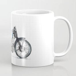 AJS 500 Racer  - Motorcycle Drawing Coffee Mug