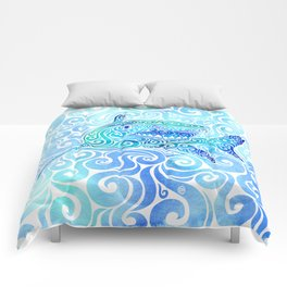 Swirly Shark Comforters