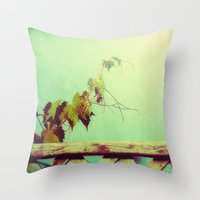 gypsy Throw Pillows featuring gypsy by Kelly Letky