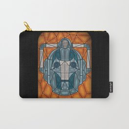 cyberman stained glass Carry-All Pouch