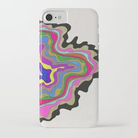 coasters iPhone & iPod Cases featuring Color Wave by Georgiana Paraschiv
