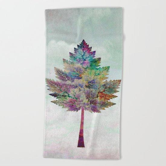 Like a Tree 2. version Beach Towel