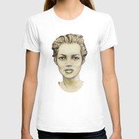 kate moss T-shirts featuring Kate Moss by Matthäus Rojek