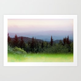 Dreaming of the Smoky Mountains - 35 mm Film Photograph Art Print