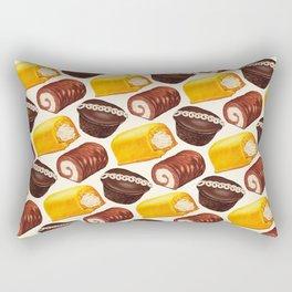 Hostess Cake Pattern Rectangular Pillow