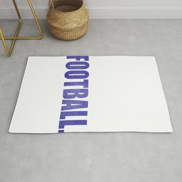 Football Gift prints Eat Sleep Football for Men, Boy productn Rug
