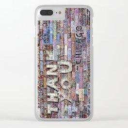 Thank you   Noriko Aizawa Buckles Clear iPhone Case