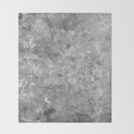 Concrete V6 Throw Blanket
