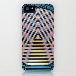 Temple of Nine iPhone Case
