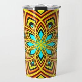Spiral Rose Pattern D 2/4 Travel Mug