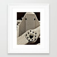 aviation Framed Art Prints featuring Aviation Pioneers by Simmons Universe