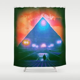 Enter the Tomb Shower Curtain