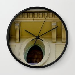 The Wooden Ceiling Wall Clock