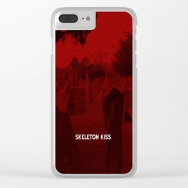 Cemetery Clear iPhone Case